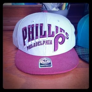 Phillies snap back hat